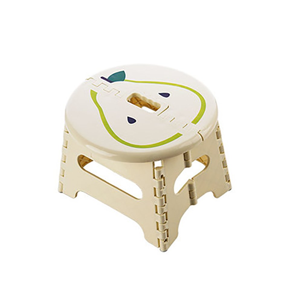 Bathroom Stool Foldable Plastic Stool Home Slip Small Bench Baby Doing Small Stool Portable Portable Outdoor Portable Children Stool Size Optional (Color : A)