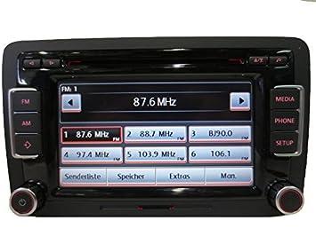Autoradio Radio Bosch Rcd510 Fur Volkswagen Vw Golf Passat Tiguan