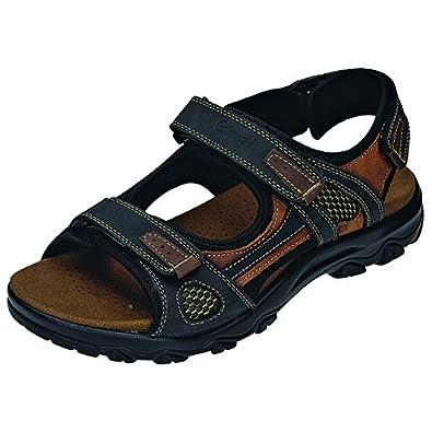 Grünwald Herren Sandale 660209 46: : Schuhe