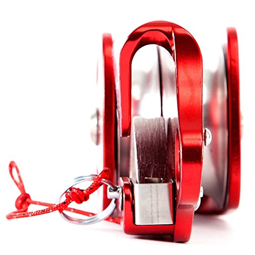 PORTABLE WINCH Double Swing Self-blocking Pulley