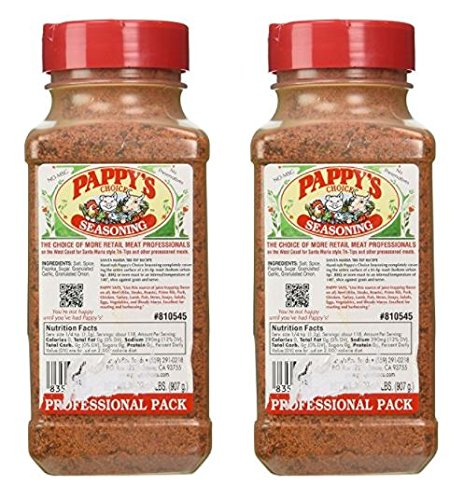 Pappys Choice Seasoning (32 Oz Professional Pack) - Pack of 2