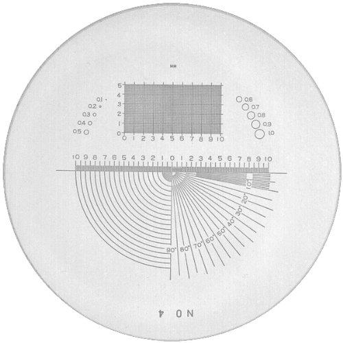 PEAK TSPS04-10 Loupe Precision Universal Graph