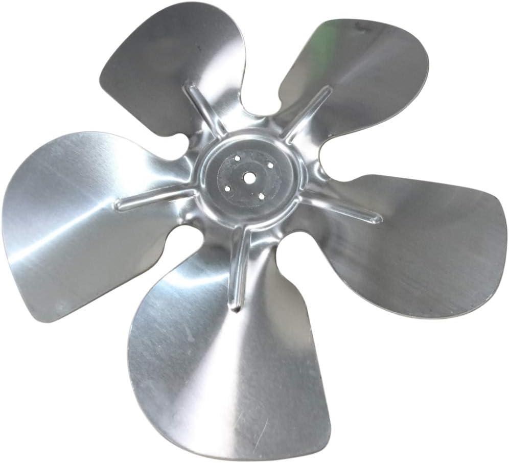 AERZETIX: Hélice Pala del Ventilador Aluminio Ø200mm 28° presión Izquierda C43417