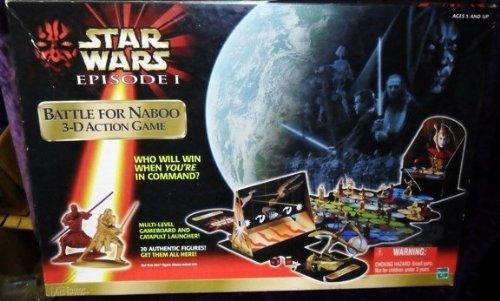 Star Wars Episode I Battle for Naboo 3-d Action Game