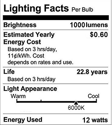 Motion Sensor Light Bulbs, Aukora 12W (100-Watt Equivalent) E26 Motion Activated Dusk to Dawn Security Light Bulb Outdoor/Indoor for Front Door Porch Garage Basement Hallway Closet(Cold White 2 Pack)