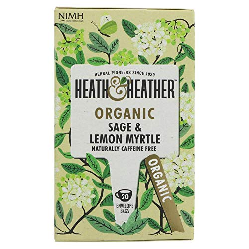 (Heath And Heather Sage & Lemon Myrtle 20 bags (Pack of 6))