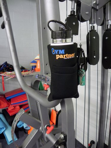 Gym Partner Magnetic Water Bottle & Accessory Case