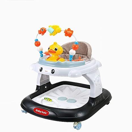 Andadores Andador para bebés, multifunción, antivuelco ...