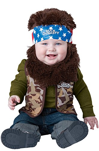 InCharacter Costumes Baby Boys' Willie Baby Costume, Camouflage, X-Small