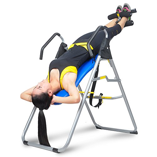 WonLink Adjustable Inversion Table for Sports Enthusiasts Exercising Indoor Fitness Exercise Blue by WonLink