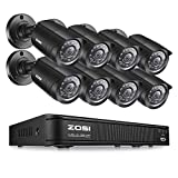 ZOSI 8CH Security Camera System 1080N DVR Reorder with (8) HD 1280TVL...