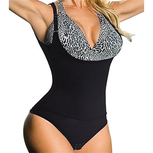 Women Full Body Waist Trainer Shaper Underbust Corset Cincher Nightwear Bodysuit