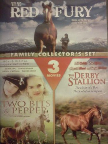 (THE RED FURY / TWO BITS & PEPPER / THE DERBY STALLION - FAMILY COLLECTOR'S SET)