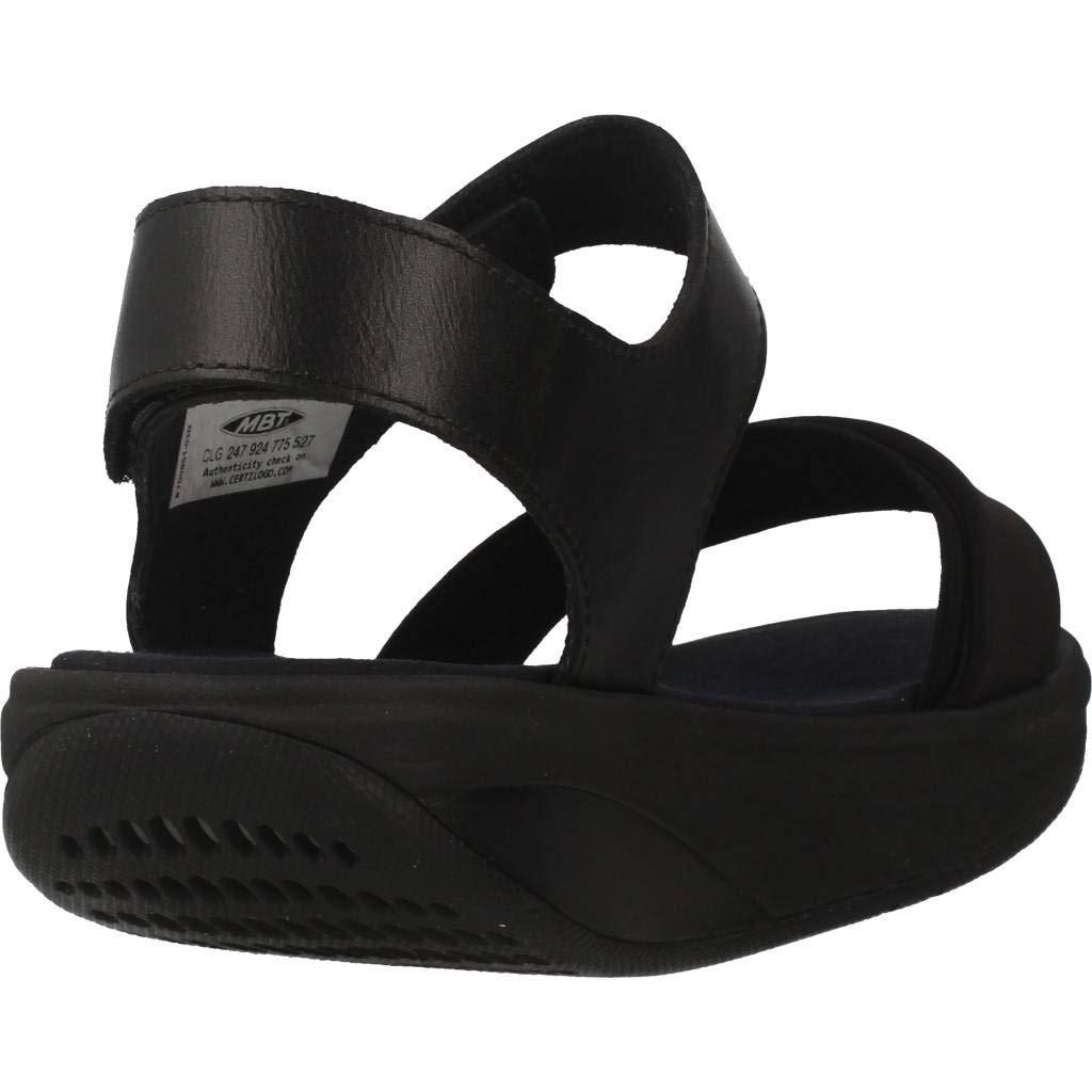 2f2e76d7af1 MBT Sandals 700951-03N Honna W Black  Amazon.co.uk  Shoes   Bags