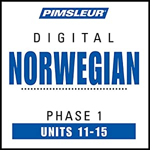 Norwegian Phase 1, Unit 11-15 Hörbuch
