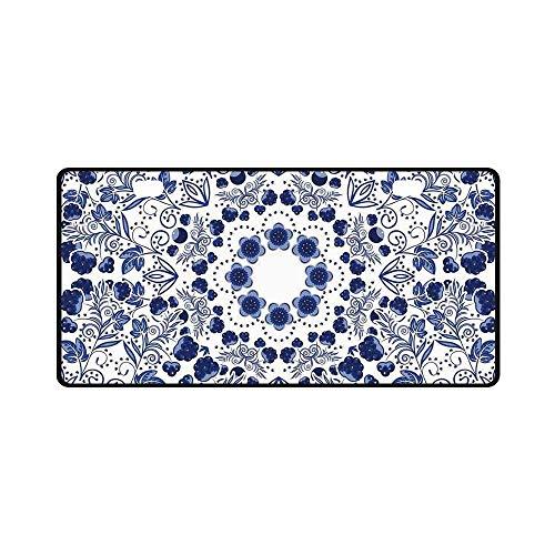 YOLIYANA Flower Utility License Plate,Middle Eastern Swirl Petals with Ethnic Ottoman Folk Art Effects Boho Arabesque Design for Car,11.8