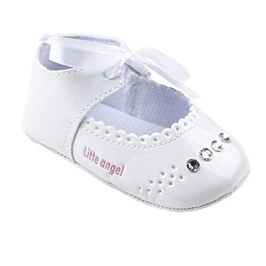 official photos multiple colors shop best sellers Amazon.com: GOTD Baby Girl Crib Shoes Infant Toddler Ribbon ...