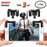 Cheap (Upgraded Version)Mobile Game Controller , Ta King Game Controller with Sensitive Shoot and Aim Buttons L1R1 for PUBG/Knives Out/Rules of Survival, Cell Phone Game Controller for iPhone Android(1 Pair
