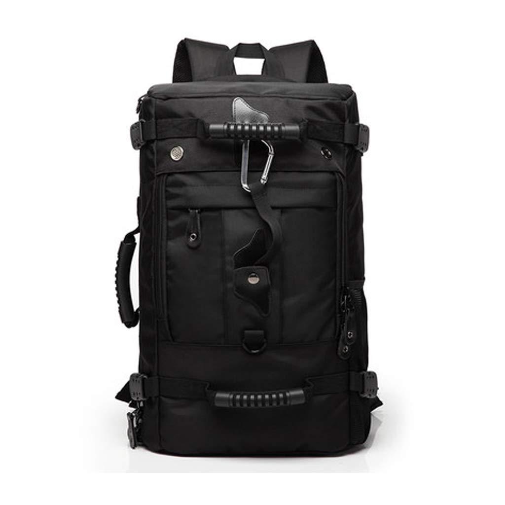 RFJJ Männer große Kapazität Rucksack Reise Computer Feld Pack mit USB Lade Mund Rucksack Bergsteigen Tasche College Packet Reisetaschen