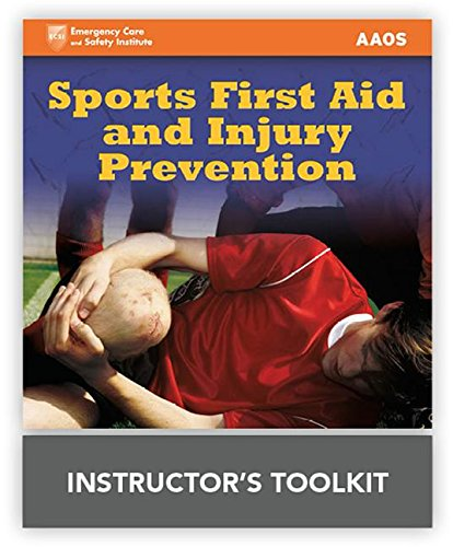 Sports First Aid  &  Injury Prevention Instructor's ToolKit by Jones & Bartlett Learning