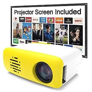 jinclonder llevó Mini proyector de Video portátil, Entretenimiento ...