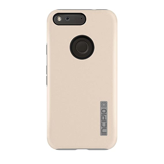 new product 6aced 404d9 Google Pixel XL Case, Incipio [Hard Shell] [Dual Layer] DualPro Case for  Google Pixel XL-Champagne/Gray