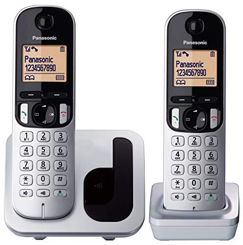 "TELÉFONO INALÃMBRICO DECT PANASONIC KX-TGC212PL - PACK DÚO - IDENTIFICACIÃ""N LLAMADAS - AGENDA COMPARTIDA - PANTALLA 4.1CM"