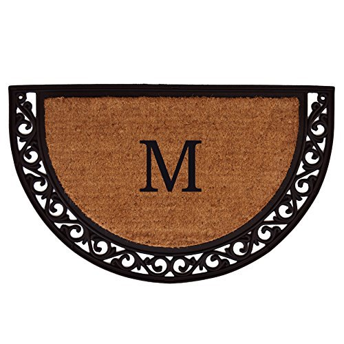 Home & More 100101830M Ornate Scroll Doormat, 18