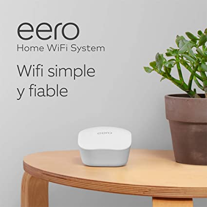 Sistema wifi de malla Amazon eero: 3 unidades