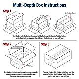 BOX USA BMD201614 Multi-Depth Corrugated