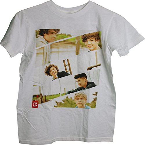 1D One Direction Group Photos 5 images Junior Girls T-Shirt X-Small