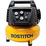BOSTITCH Factory-Reconditioned U/BTFP02011 6-Gallon Pancake Compressor