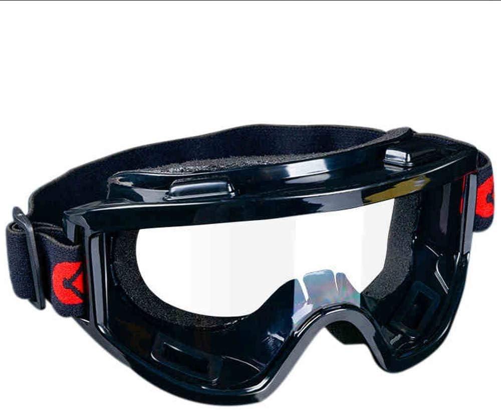 Adesign Contra la Niebla Gafas de Seguridad Rasguño Resistente Protección Gafas Protectoras, impactado Ojo Sellado de protección Gafas de Trabajo sobre Las Gafas de Laboratorio (2 Unidades)