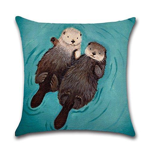 YANGYULU New Arrival Cute Animal Otter Lover Couple Sleep Co