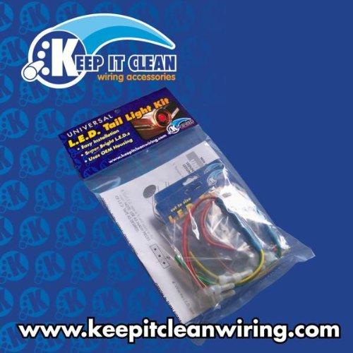 Keep It Clean 10770 LED Tail Light Kit 1941-1948 Chevy LED Tail Light Kit
