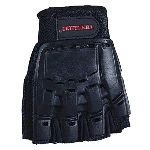 Tippmann Sports Armored Half Finger Paintball Airsoft Gloves - Small Tippmann Paintball Equipment