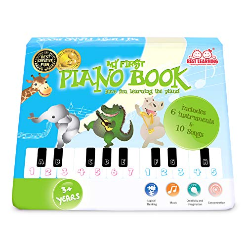 BEST LEARNING My First Piano Book - Educational Musical Toy for Toddlers Kids