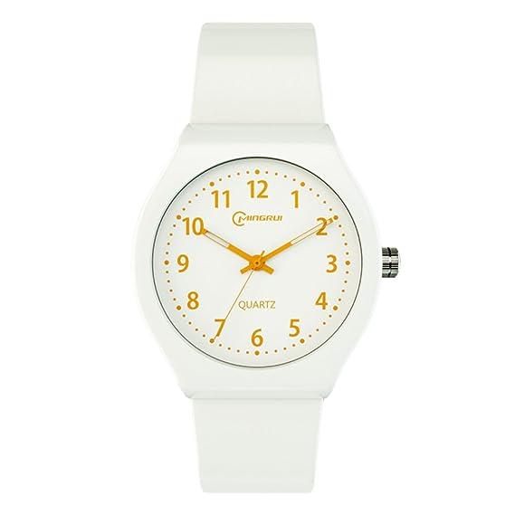 Reloj de Cuarzo para niños con iluminación de natación, Impermeable, Digital, Reloj de Pulsera Girl-B: Amazon.es: Relojes