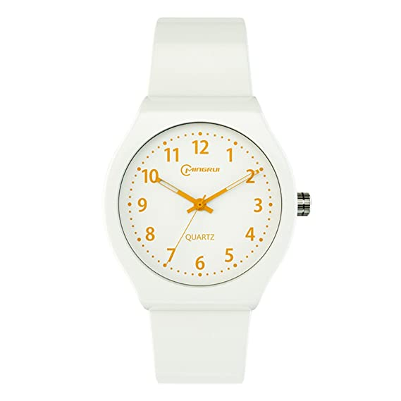 Niño Reloj de cuarzo Encantador Impermeable Natación Luminoso Relojes digitales Niña-B