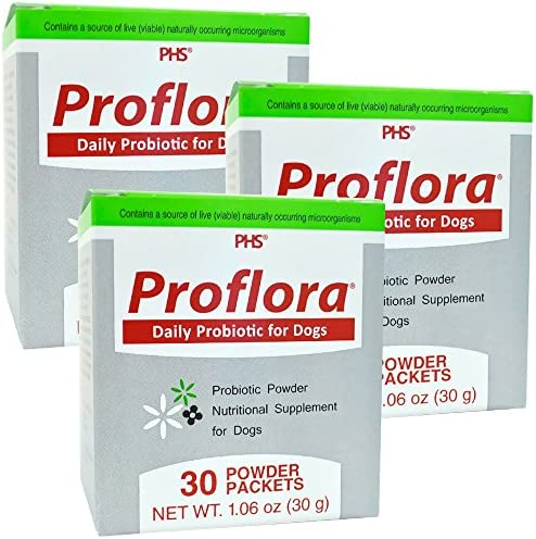 proflora 3PACK Probiotic for Dogs 90 Servings