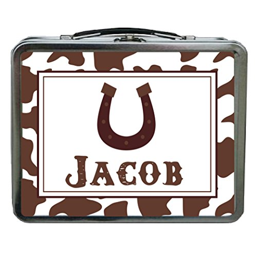 Horseshoe Personalized Aluminum Lunch Box ()