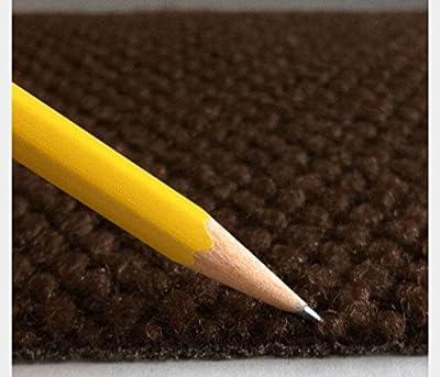 TrafficMaster Brown Hobnail 18 in. x 18 in. Indoor/Outdoor Carpet Tiles (16 Tiles/Case)