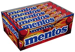 Mentos Rolls, Cinnamon, 1.32 Ounce (Pack of 15)