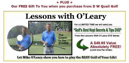 Deluxe Orange Whip Golf Swing Trainer Package Exclusive Training & Bonus DVD (Men & Ladies 5'6'' and Taller)