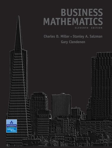 Business Mathematics Value Pack (includes MyMathLab/MyStatLab Student Access& Student's Solutions Manual for Busines