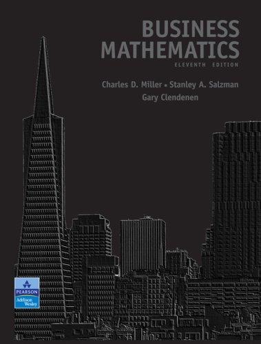 Business Mathematics Value Pack (includes MathXL 24-month Student Access Kit & MyMathLab/MyStatLab Student Access )
