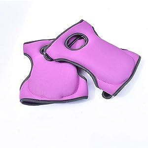 Ejoyfuture Knee Pads for Gardening&Cleaning,Knee Pads for Work.Knee Pads for Scrubbing Floors.Memory Foam Knee Pads.2PCS (Purple)