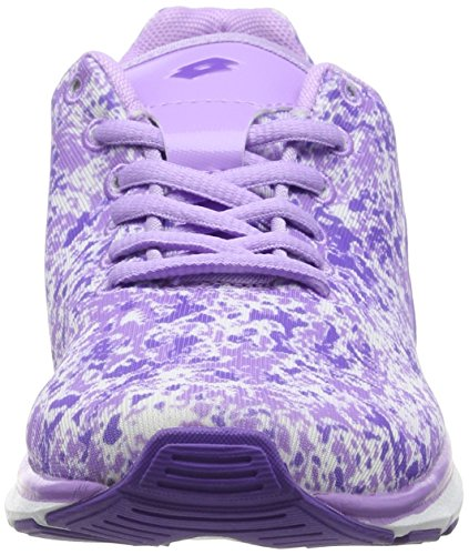 LottoARIANE IV PRT AMF W - zapatillas de running Mujer Morado - Violett (VIOL PA/MARMOR)