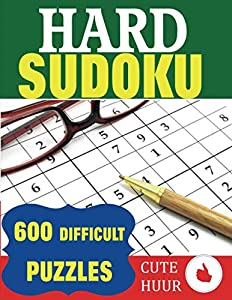 Sweepstakes: Hard Sudoku: 600 Difficult Puzzles
