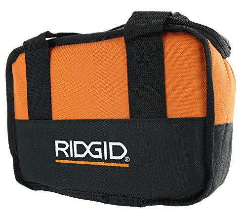 Ridgid Genuine OEM Soft-Sided Heavy Duty Cross X-Stitched Contractor's Tool Bag for 12V Tools (10 Inches x 7 Inches x 5 Inches) (Power Cordless Set Tool Ridgid)